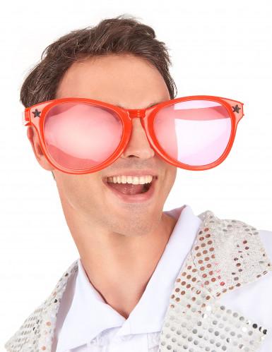 Kæmpe brille i rød-1