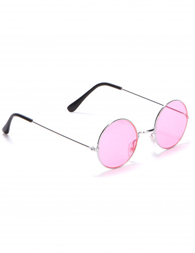 Runde hippiebriller små