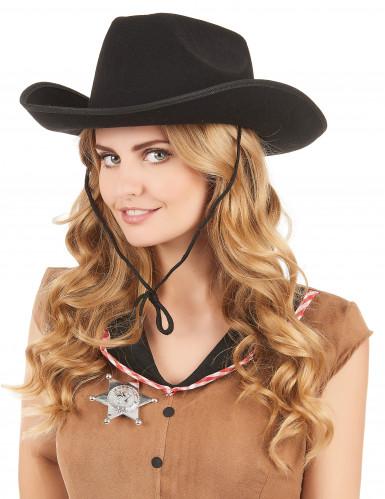 Hat cowboy til voksne-1