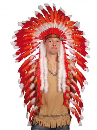 Prydelse indianerhøvding til voksne