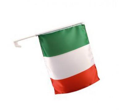 Flag til supporterbil Italien 30 x 46 cm