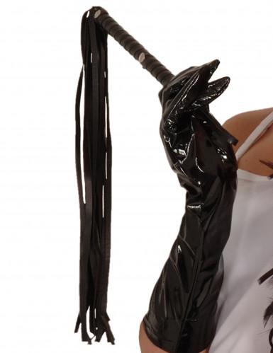Pisk i imiteret læder