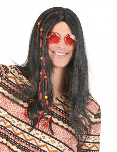 Mellemlang hippieparyk til voksne