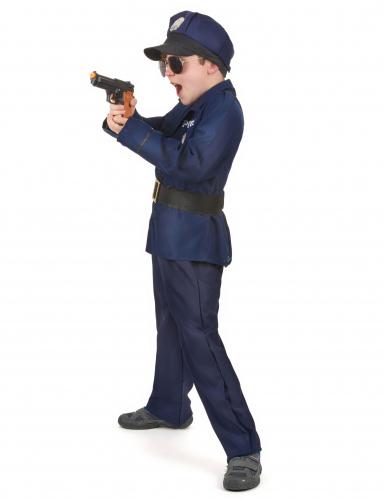 Kostume politibetjent luksus til drenge-1