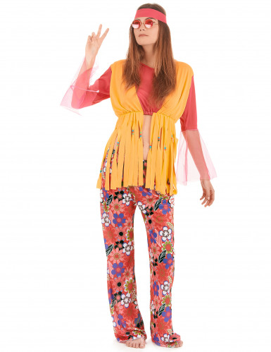 Frynset hippieudklædning til kvinder