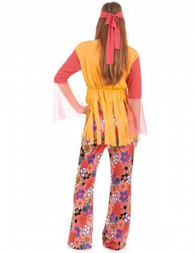 Frynset hippieudklædning til kvinder-2