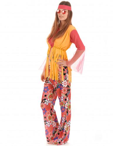 Frynset hippieudklædning til kvinder-1