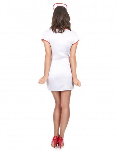 Sexet sygeplejerskekostume Kvinde-2