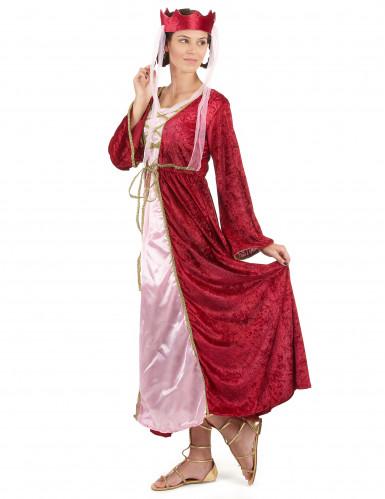 Middelalder Dronning Kostume-1