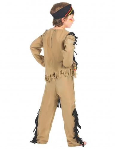 Farverigt indianerkostume til drenge -2