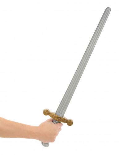 Sværd til middelaldersridder i plastik-1