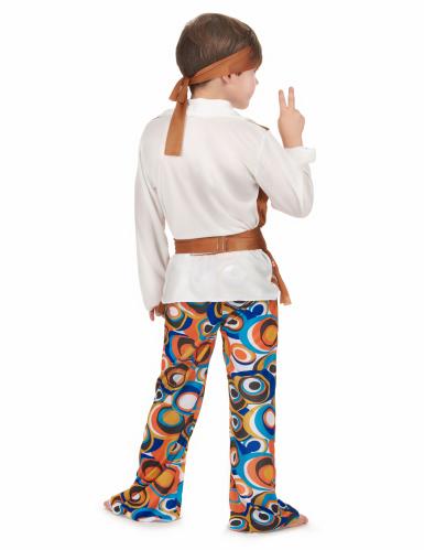 Brunt hippiekostume drenge hippie-2
