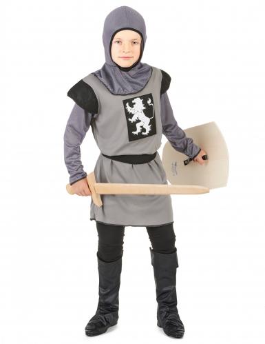 Grå ridder - udklædning til børn