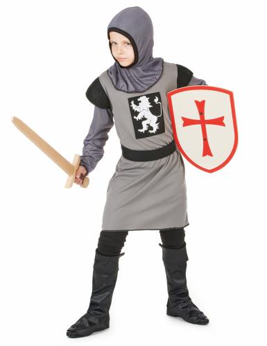 Grå ridder - udklædning til børn-1