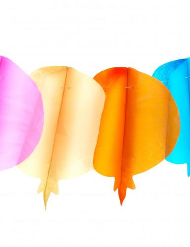 Guirlande i boldformet papir 4 m-1