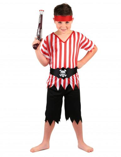 Den frække pirat - Piratkostume til drenge