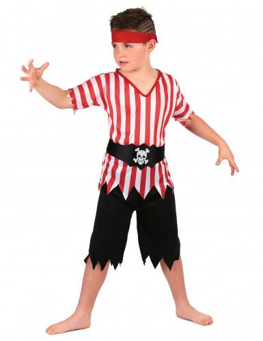 Den frække pirat - Piratkostume til drenge -1