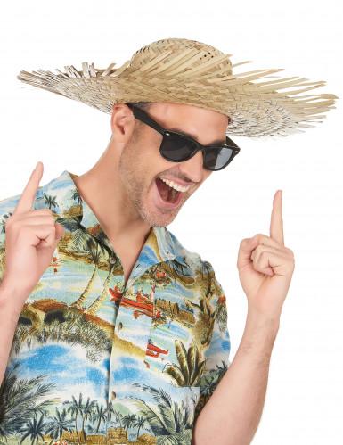 Hat i strå Hawaii til voksne-1