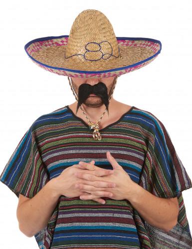 Mexicansk Sombrero i Strå Voksen-5
