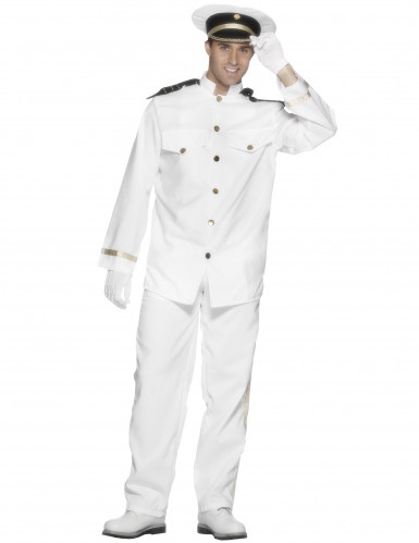 Udklædning kaptajn mand