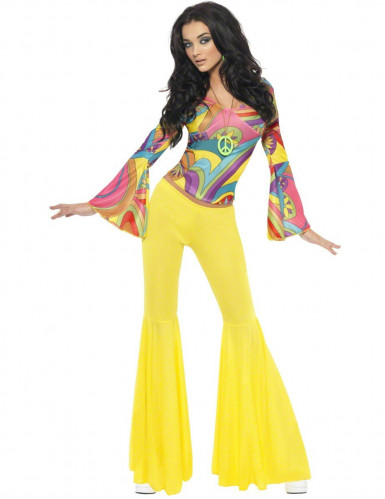70'er-hippie kostume kvinde
