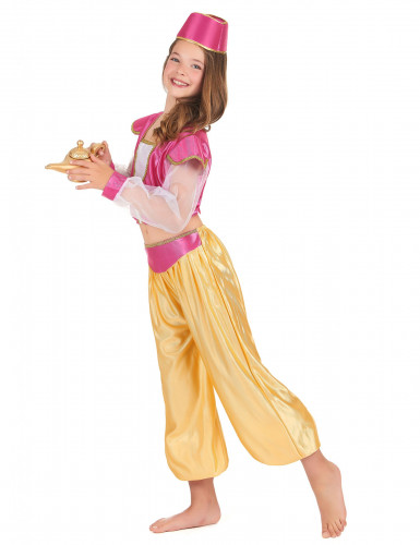 Orientalsk lampeåndkostume til piger -1