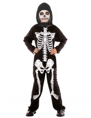 Skelet - udklædning til børn Halloween