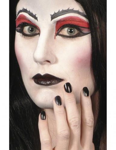 Sort Læbestift og Neglelak Halloween