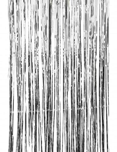 Sølvskinnende dørgardin-1