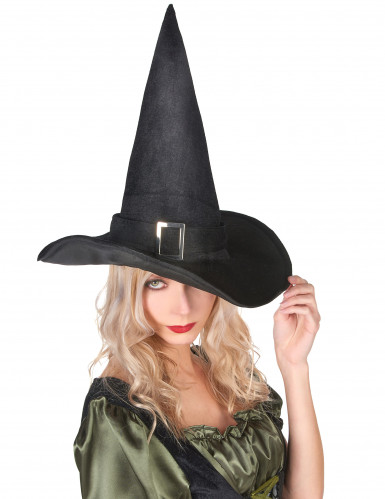 Heksehat i Fløjl Halloween Voksen