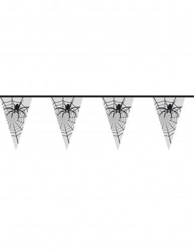 Guirlande edderkopper gennemsigtige Halloween
