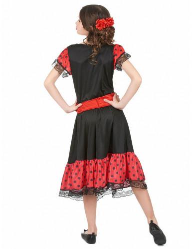 Kostume spansk inspireret pige-1