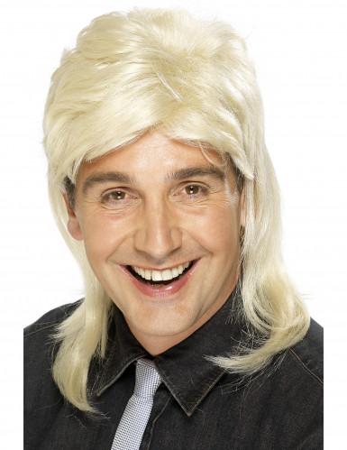 Paryk Svenskerhår Blond Mand