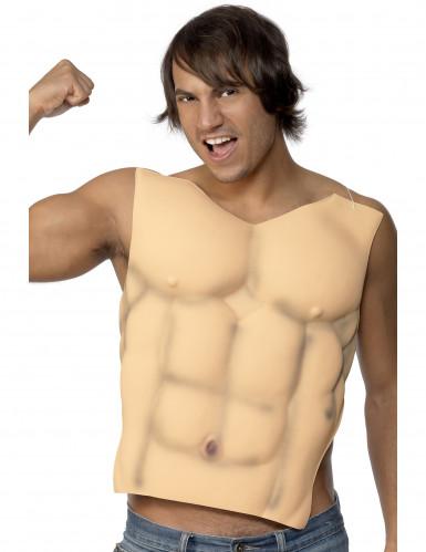 Falsk brystkasse muskuløs voksen