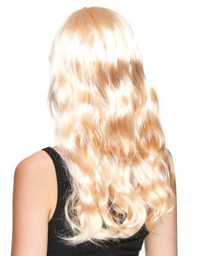 Paryk blond lang dame-1