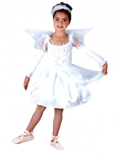 Balletengel - Englekostume til piger