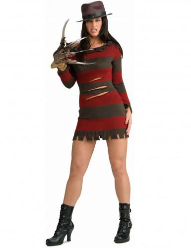 Kostume Freddy Krueger™ voksen