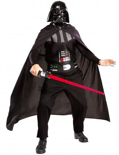 Darth Vader Star Wars™ kostume med lyssværd voksen