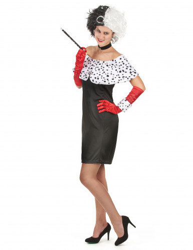 Cruella- udklædning voksen-1