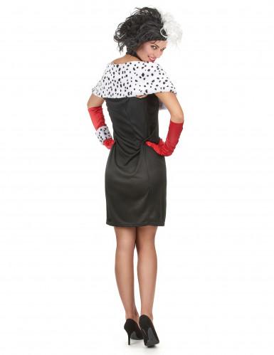Cruella- udklædning voksen-2