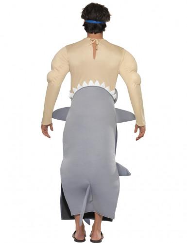 Hajattack udklædning til voksne-1