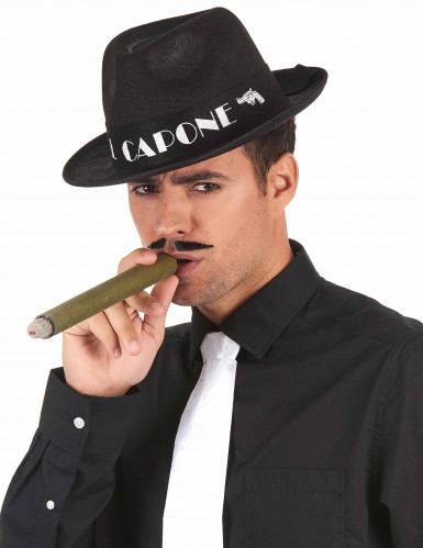 Hat borsalino Al Capone sort-1