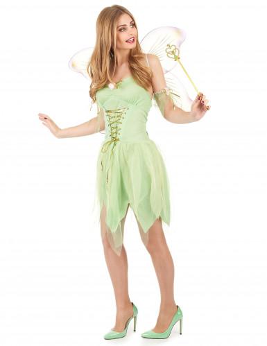 Grøn fe - udklædning voksen-1