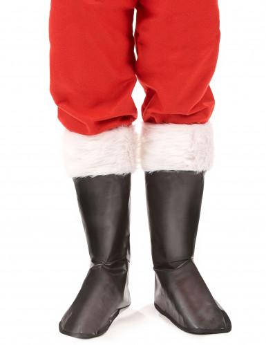Overtræksstøvler Julemand Voksen-1