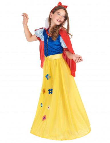 Æbleprinsessen - Eventyrligt prinsessekostume til piger -1