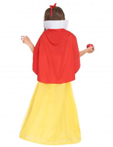 Æbleprinsessen - Eventyrligt prinsessekostume til piger -2