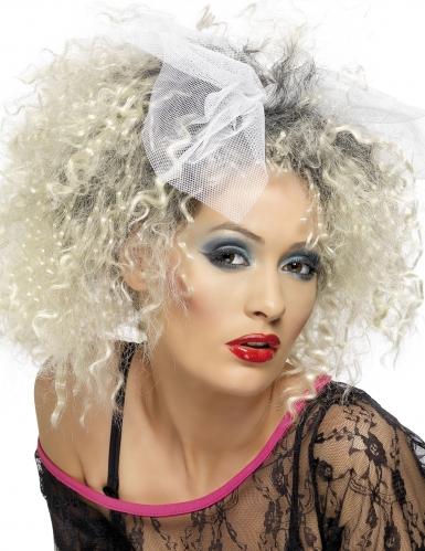 Paryk blond 80erne Dame
