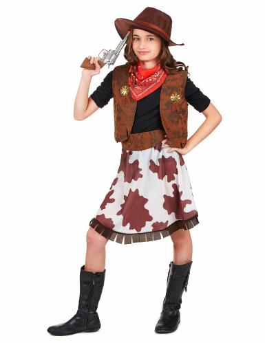 Cowgirl - udklædning til børn-1