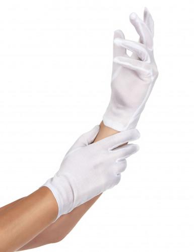 Hvide handsker Voksen