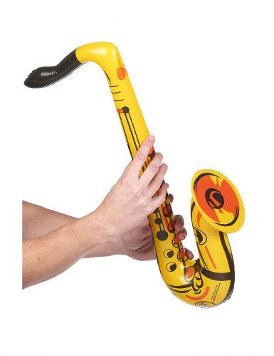 Saxofon gul oppustelig-1